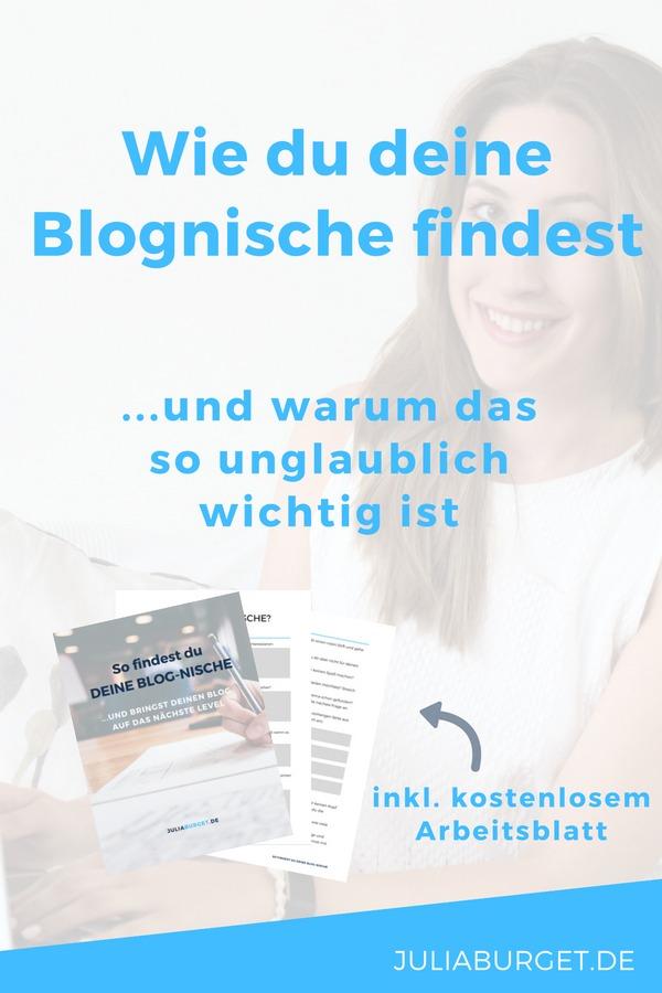 Finde deine Blognische
