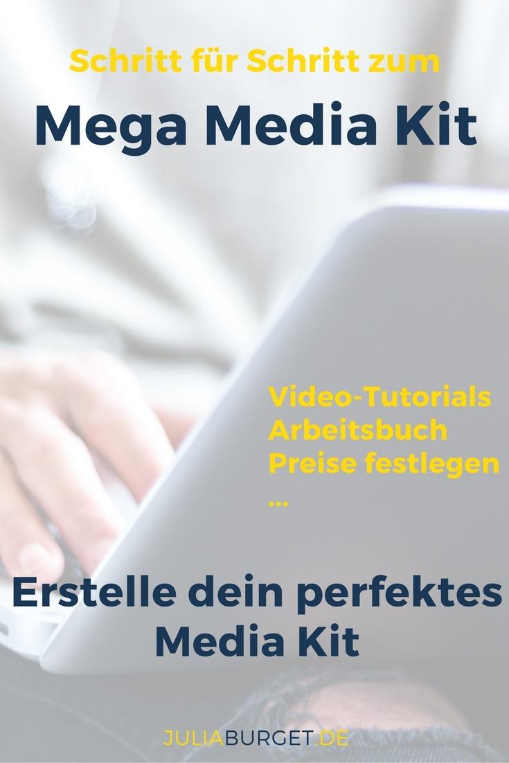 Media Kit Anleitung Vorlagen Kurs Blogger Tipps Blog Bezahlte ...