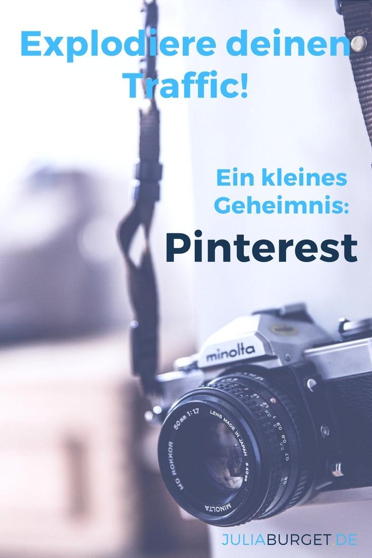 Hol dir deinen Traffic von Pinterest - ein kleiner Geheimtrick