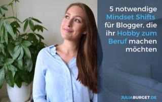 Mindset Tipps für Blogger