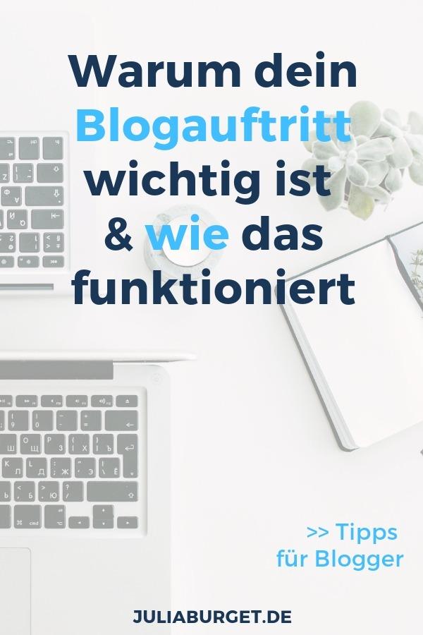 Zu einem erfolgreichen Blogauftritt gehört nicht nur deine Website und dein Webdesign. Zu deinem Auftritt als Blogger gehört noch viel mehr. Mit einigen wenigen (aber wichtigen) Punkten, kannst du jedoch schon einen großen Unterschied bewirken, das Vertrauen deiner Leser gewinnen und langfristig Reichweite aufbauen. Bist du bereit? #blogtipps #bloggertipps #blogger #blogstarten #vomblogzumbusiness