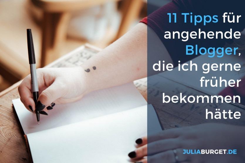Tipps für Bloganfänger