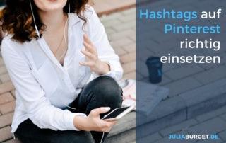 Pinterest Hashtags richtig einsetzen
