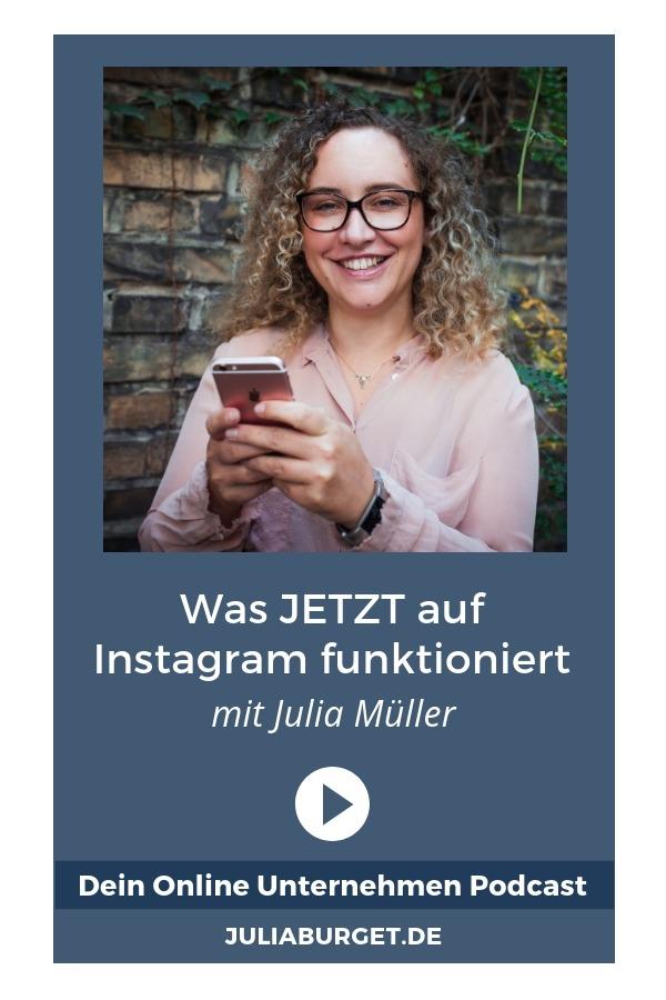 Bist du neugierig was JETZT tatsächlich auf Instagram funktioniert? In dieser Podcastfolge teilt Julia Müller von Business Bliss ihre besten Instagram Tipps mit dir. Es geht darum, wie du auf Instagram Reichweite aufbaust, wie du deine Inhalte planst und eine Contentstrategie für Instagram entwickelst. Viel Spaß beim Zuhören (deutscher Podcast). Dein Online Unternehmen. #blogtipps #instagramtipps #deinonlineunternehmen #instagramreichweite