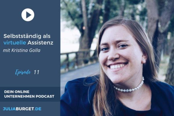 Virtuelle Assistenz selbstständigkeit Kristina Golla