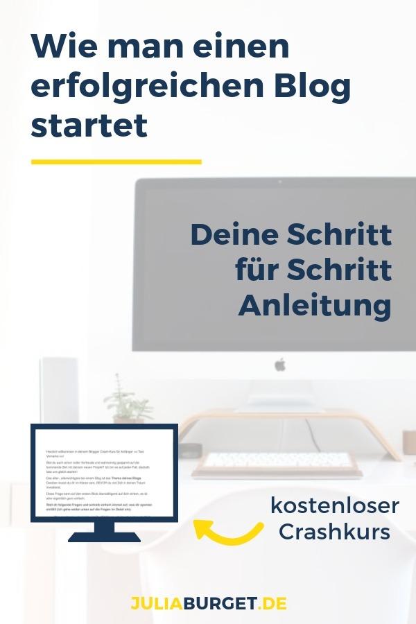 Starte Blog Kurs Blog Experte
