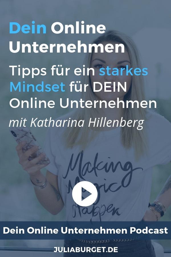 Bist du ein echter Girl Boss und möchtest dich online selbstständig machen? Dann ist das deine Podcastfolge. Katharina Hillenberg spricht darüber, wie du Ängste überwinden und ein starkes Mindset entwickeln kannst. Egal, ob du dich neben- oder hauptberuflich selbstständig machen möchtest. Diese Mindset-Tipps sind für dein ganzes Leben relevant. #bloggertipps #vomblogindieselbststaendigkeit #blogtipps #onlineunternehmen