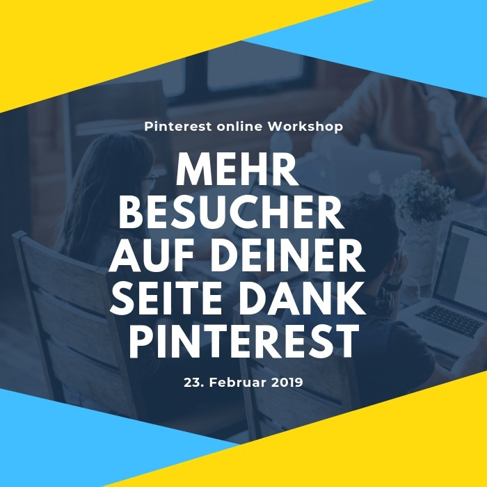 Pinterest Workshop online live