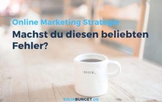 Online Marketing Strategie aufsetzen