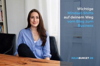 Mindsetarbeit Blogger