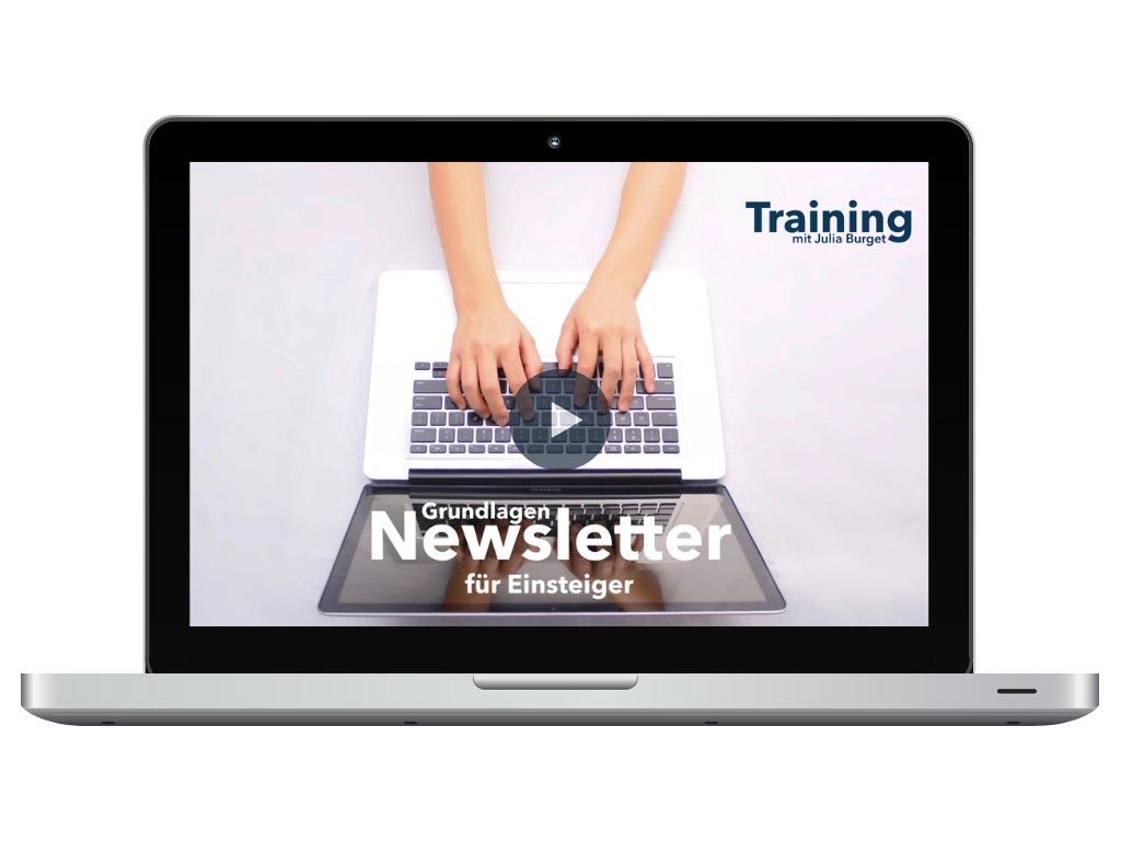 Newsletter Training Kurs