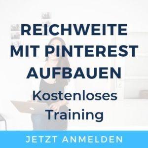Pinterest Grundlagen Training
