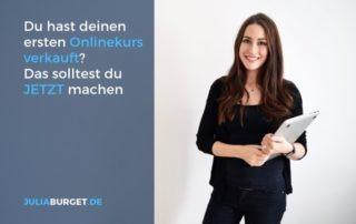Was tun nach Onlinekurs launch