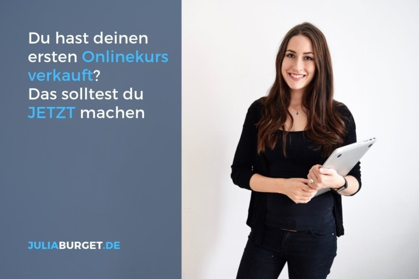 Was tun nach Onlinekurs launch