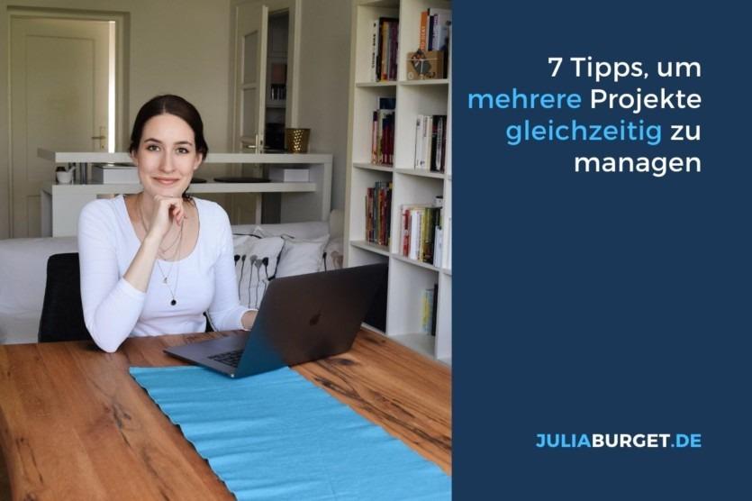 Tipps mehrere projekte gleichzeitig verwalten
