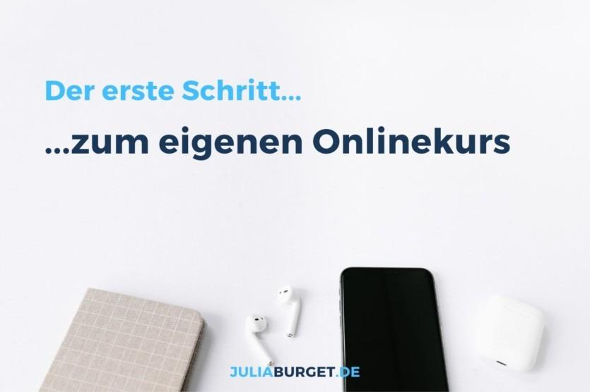 Onlinekurs erstellen anfangen