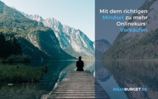 Mindset Onlinekurs verkaufen
